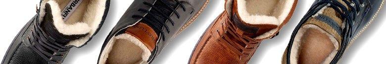 Gefütterte Schuhe