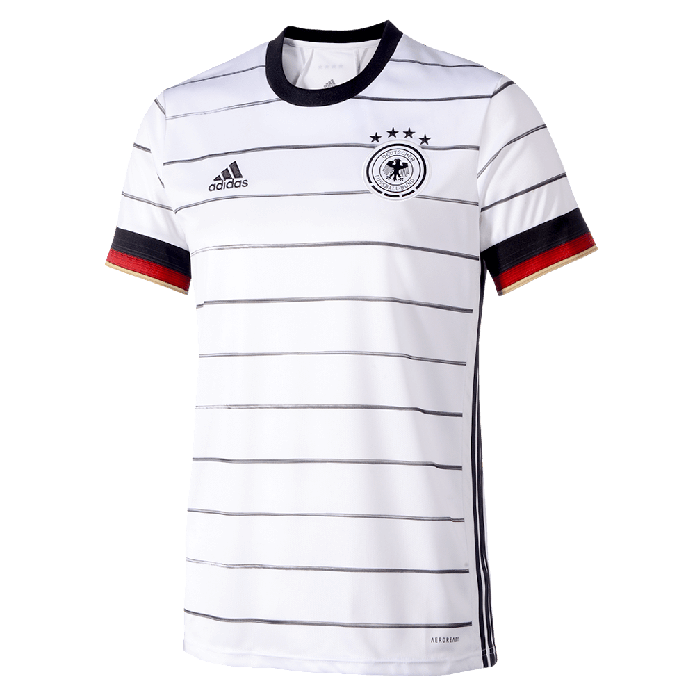 adidas DFB Deutschland EM 2020 Kinder Heim Trikot Home Jersey EH6103 weiß