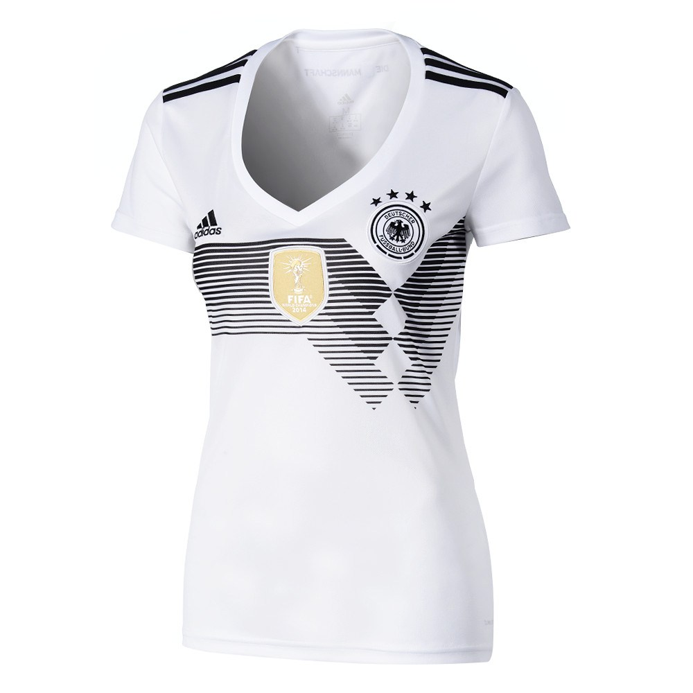 ADIDAS DAMEN DFB Frauen Trikot Away Schwarz Black Womens