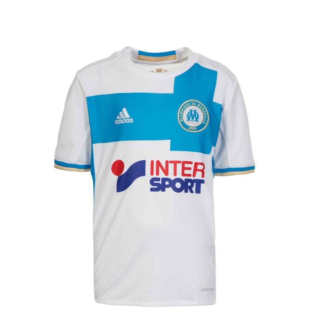 classic fit cf0bc 71dd8 Adidas Olympique Marseille Heim Trikot 2016/2017 Kinder
