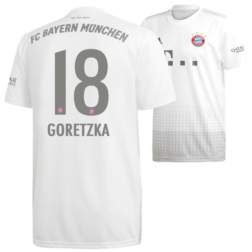 Adidas FC Bayern Auswärts Trikot grau