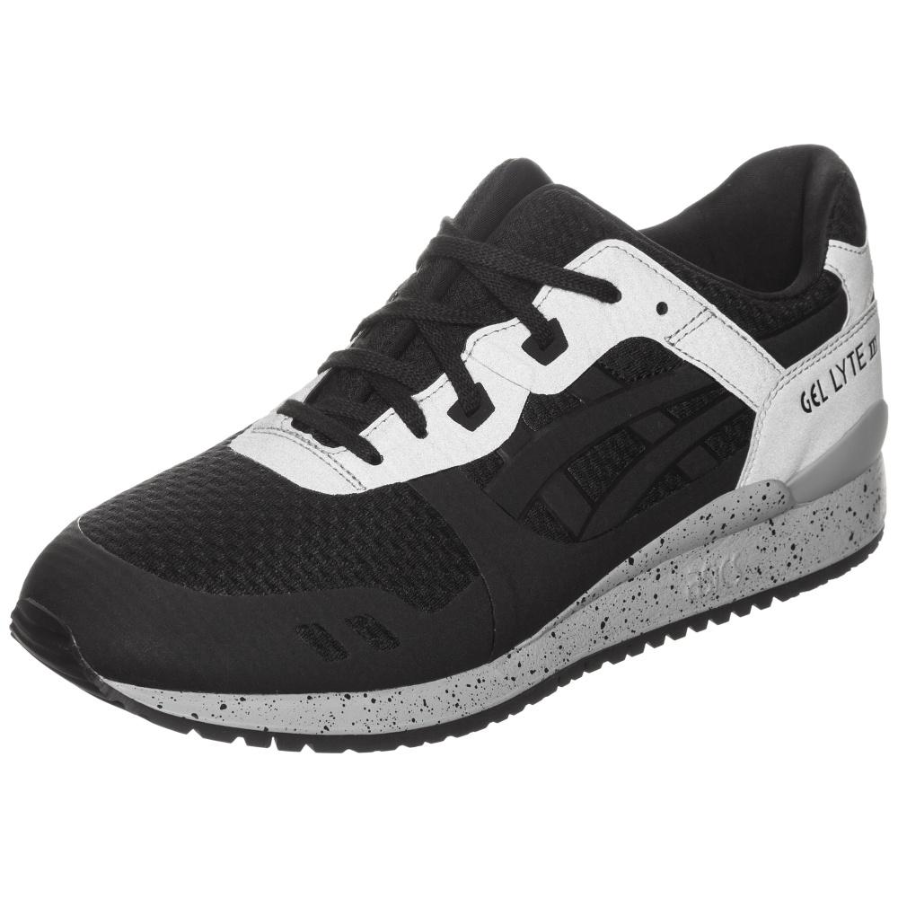 Schwarz Grau Schuhe Asics   Gel Lyte Iii Ns Sneaker