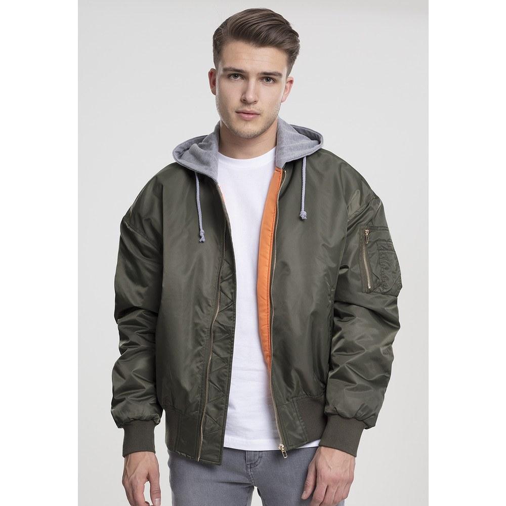 online store e9073 2b2f4 URBAN CLASSICS Bomberjacke Hooded Oversized