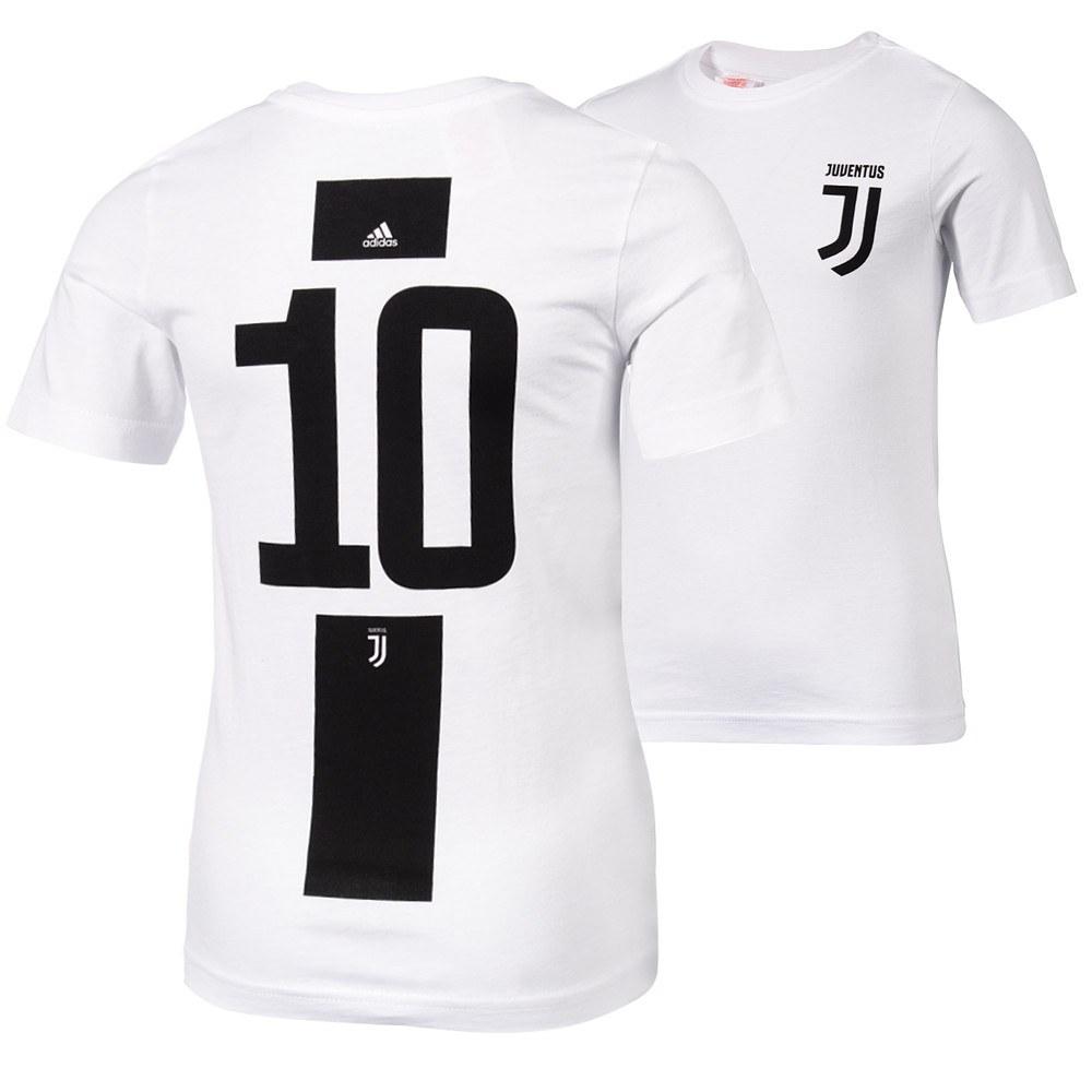 Adidas Juventus Turin T Shirt 10 (Dybala) Logo Kinder