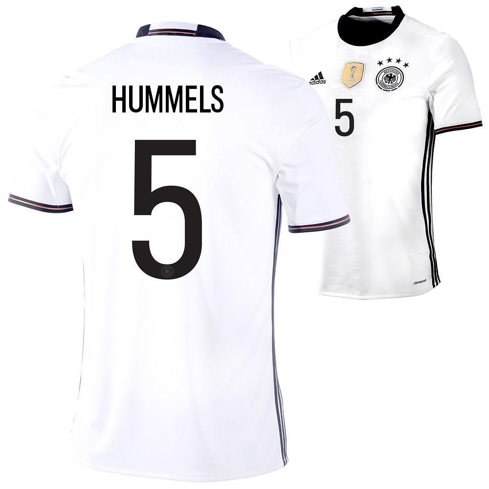 huge selection of 283b1 4b189 Adidas EM Deutschland Trikot Heim 2016 HUMMELS Kinder