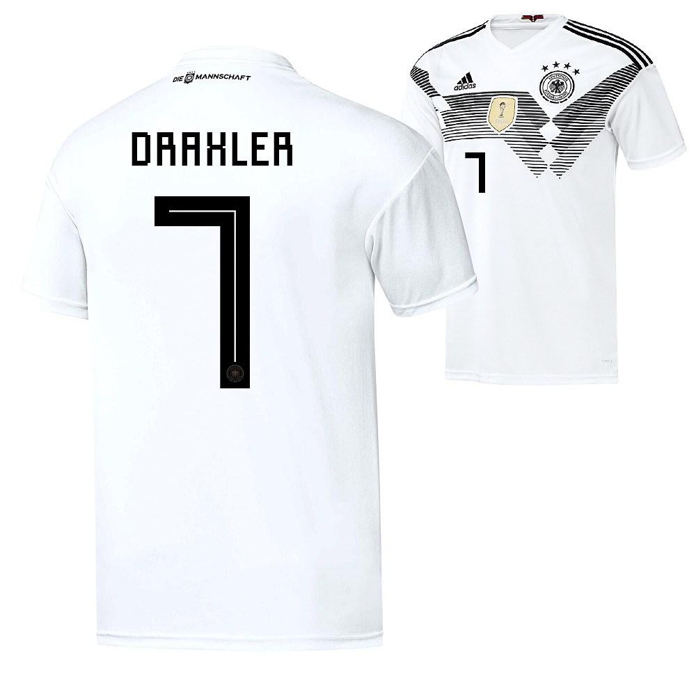 order good quality new collection Adidas Deutschland WM 2018 DFB Trikot Heim DRAXLER