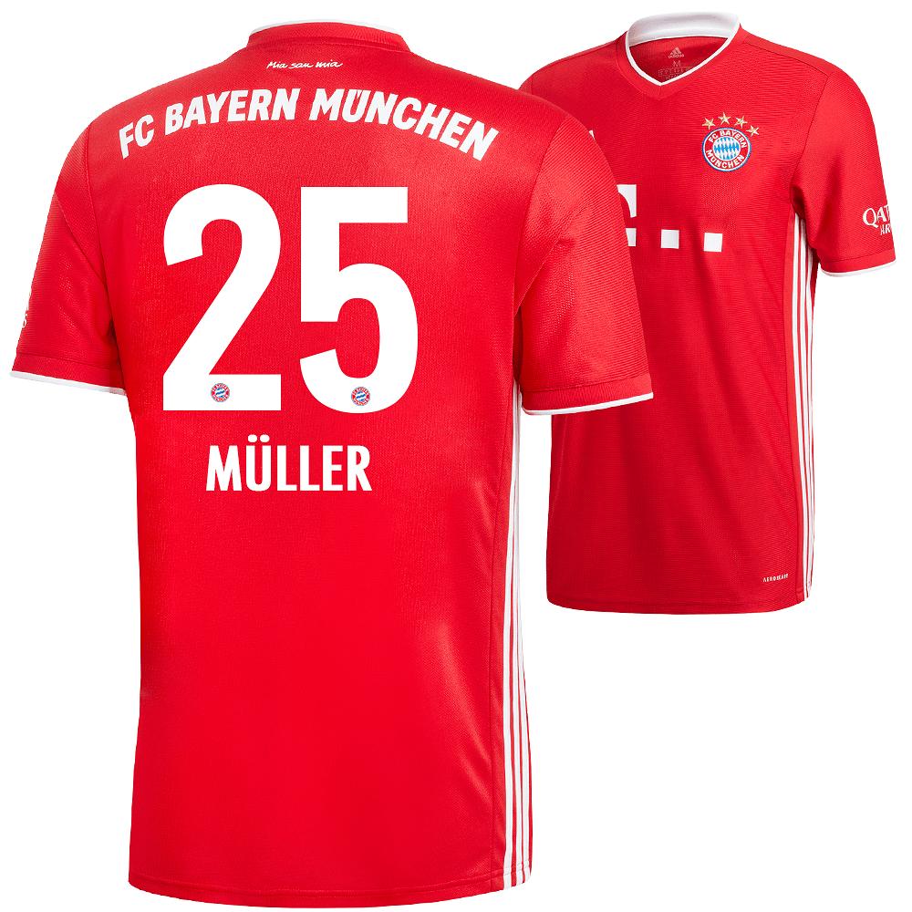 Adidas FC Bayern München Heim Trikot MÜLLER 2020/2021 ...
