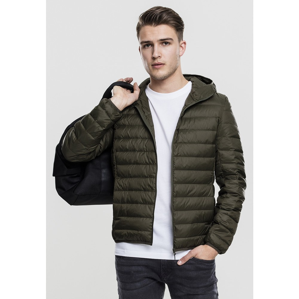 Down Classics Basic Urban Jacke Hooded N0wOXZn8Pk