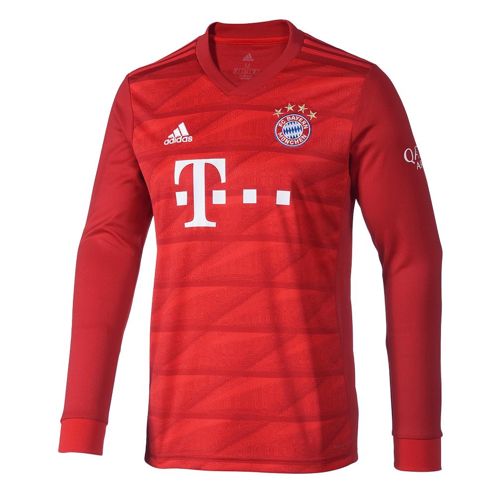 Adidas FC Bayern München Trikot 20192020 Heim Langarm Kinder
