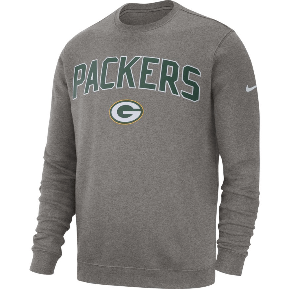 Nike Green Bay Packers Sweatshirt NK 20192020 Grau kaufen