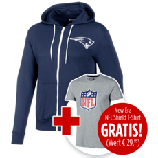 New Era Jacke New England Patriots inkl. T-Shirt NFL Shield Logo