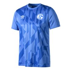Umbro FC Schalke 04 Aufwärmshirt 2019/2020 Blau