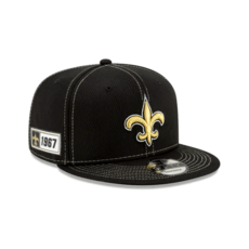 New Era New Orleans Saints Cap On Field 9FIFTY schwarz