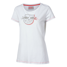 RB Leipzig T-Shirt Red Shadow Damen weiß