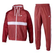 Nike Trainingsanzug Hooded Rot