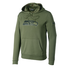 New Era Seattle Seahawks Hoodie Large Print Camo oliv