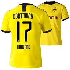 Puma Borussia Dortmund Heim Trikot HAALAND 2019/2020 Kinder