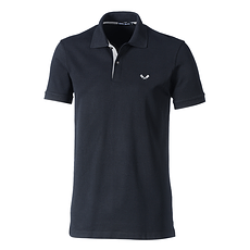 Cotton Butcher Poloshirt Basic schwarz