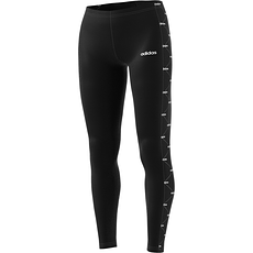 Adidas Tights Core Linear schwarz/weiß