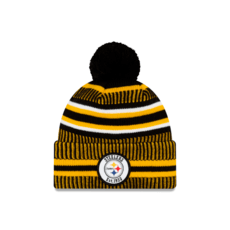 New Era Pittsburgh Steelers Beanie On Field Sport Knit HM schwarz