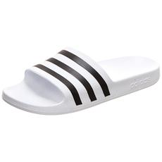 Adidas Badesandale ADILETTE AQUA Weiß/Schwarz