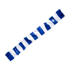 FC Schalke 04 Schal Blockstreifen Blau/Weiß