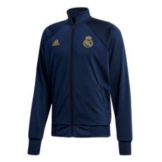 Adidas Real Madrid Trainingsjacke Icons dunkelblau/gold