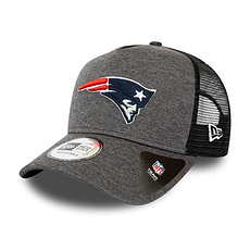 New Era New England Patriots Cap Shadow Tech Trucker grau
