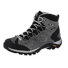 Brütting Trekking Stiefel Mount Bona High grau
