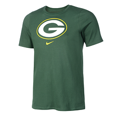 Nike Green Bay Packers T-Shirt DFCT Essential Kinder grün