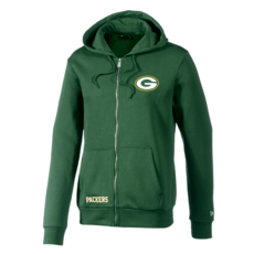 New Era Green Bay Packers Kapuzenjacke Team Logo grün