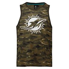 Fanatics Miami Dolphins Tanktop Digi Camo khaki