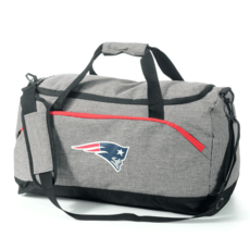 Forever Collectibles New England Patriots Duffel Bag grau