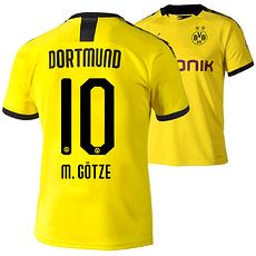 Puma Borussia Dortmund Heim Trikot M.GÖTZE 2019/2020 Kinder