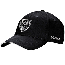 Jako VfB Stuttgart Cap Team schwarz/silber