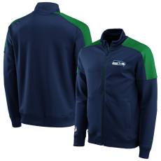 Fanatics Seattle Seahawks Trackjacket Back To Basic navy/grün