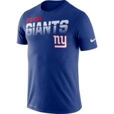 Nike New York Giants T-Shirt NK Blau