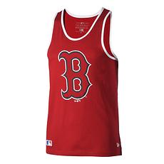 New Era Boston Red Sox Tanktop Logo rot