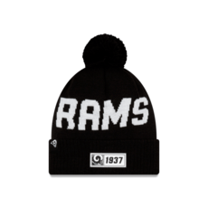 New Era Los Angeles Rams Beanie Sport Knit RD schwarz