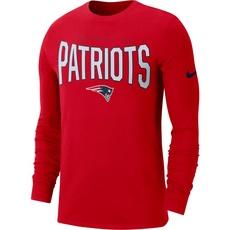 Nike New England Patriots Longsleeve Shirt 2019/2020 Rot