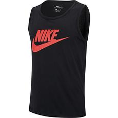 Nike Tanktop Logo Swoosh Schwarz