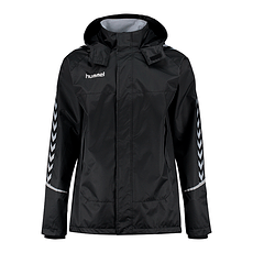 hummel Allwetter Jacke Authentic Charge schwarz