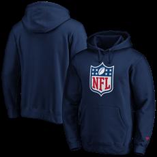 Fanatics NFL Shield Hoodie Overhead Graphic navy