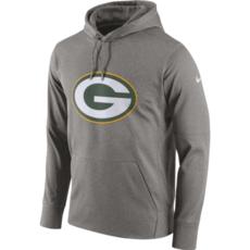 Nike Green Bay Packers Hoodie Perfect Circle grau