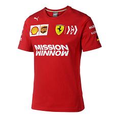 Ferrari T-Shirt Vettel 2019 rot