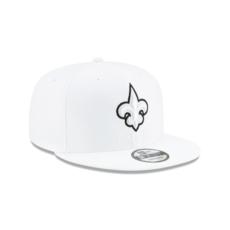 New Era New Orleans Saints Cap On Field Platin 9FIFTY weiß