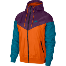 Nike Kapuzenjacke Windrunner Orange/Purple