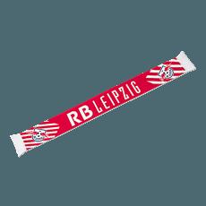 RB Leipzig Schal DIE ROTEN BULLEN rot/weiß