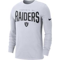 Nike Oakland Raiders Longsleeve Shirt 2019/2020 Weiß