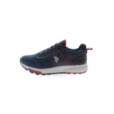 U.S. POLO ASSN. Sneaker Heck Suede dunkelblau